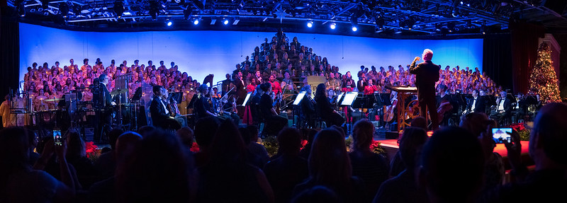 Choir at Candlelight Processional