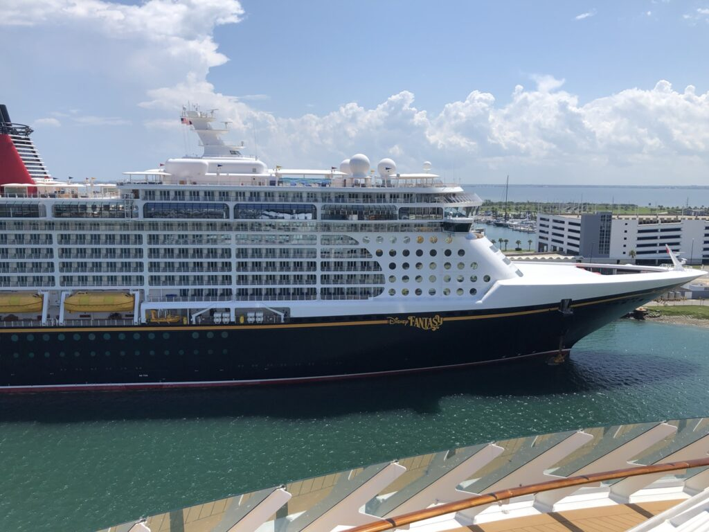 Disney Fantasy Cruise Ship in Port Canaveral 2021