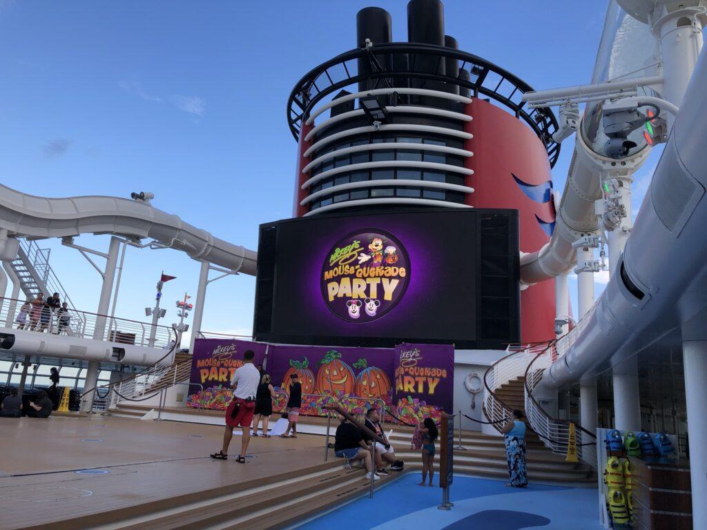 Mickey Mouse-querade on Disney Cruise