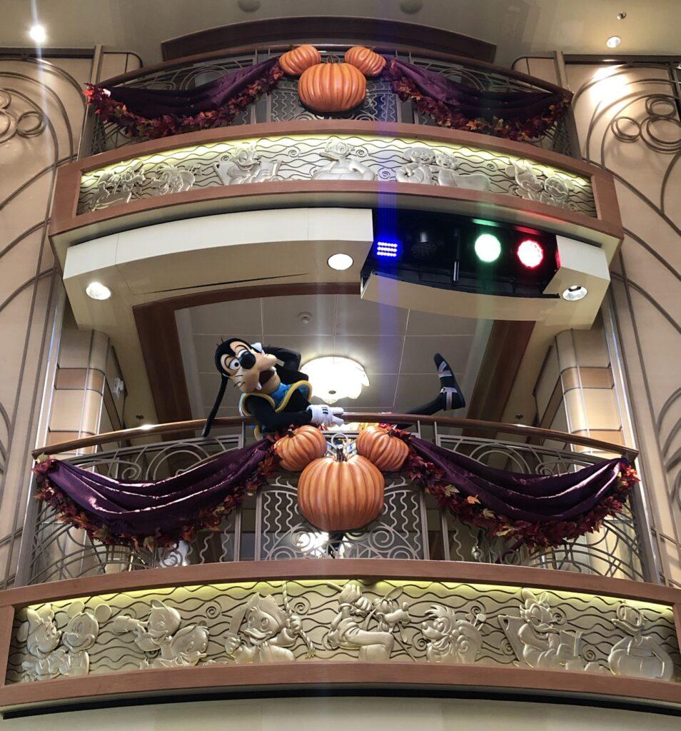Goofy on Disney Cruise