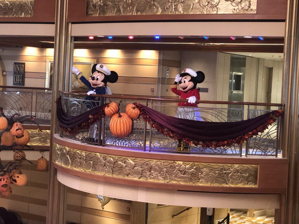 Mickey and Minnie on Disney Cruise