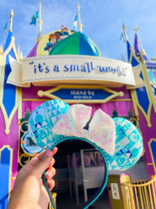 it's a small world attraction, Disney World