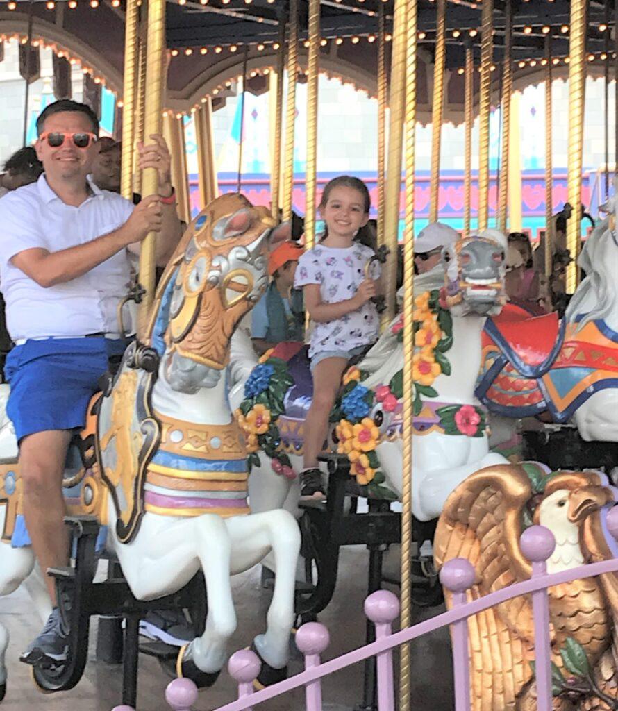 Prince Charming Regal Carrouel at Walt Disney World