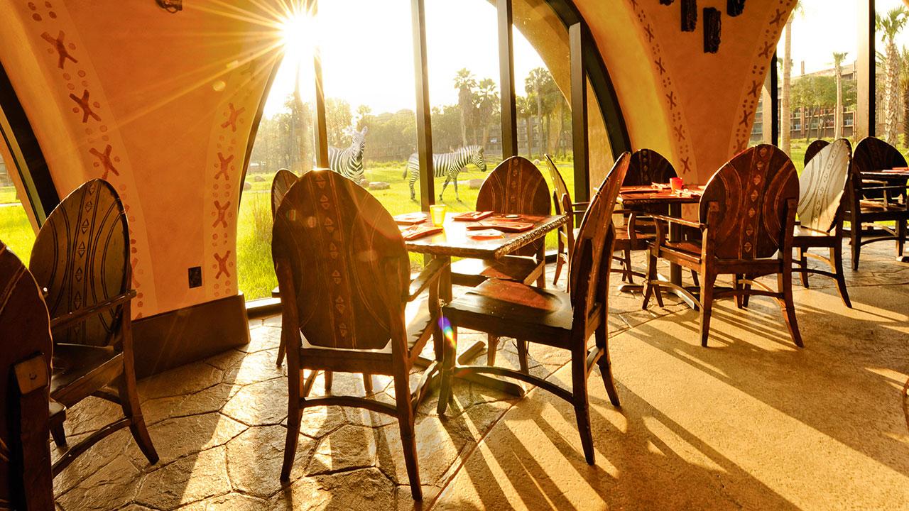 Sanaa Restaurant at Disney's Animal Kingdom Villas