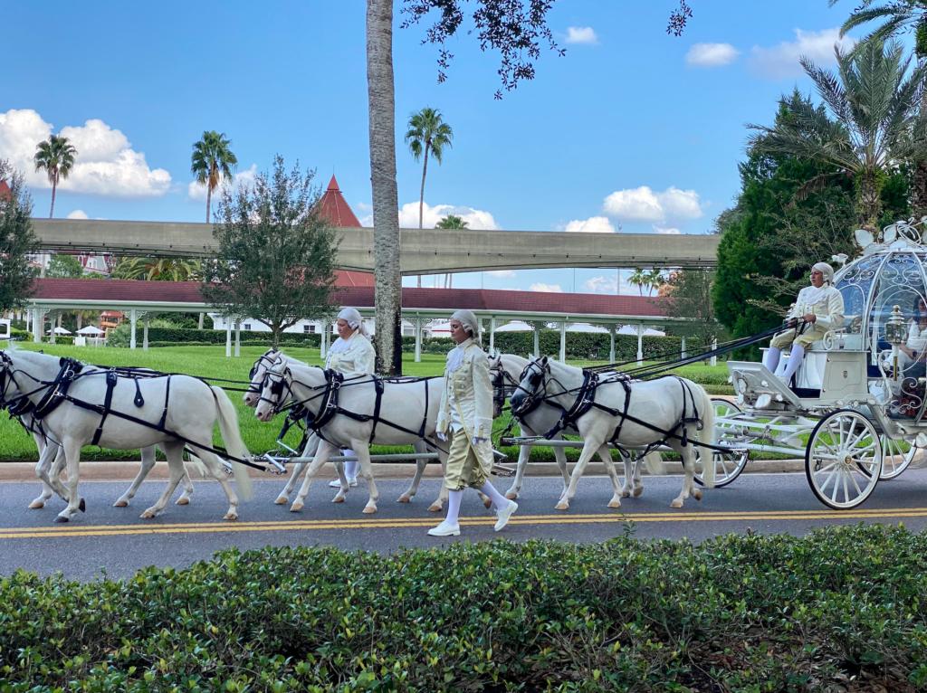 Wedding carriage at Walt Disney World