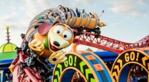 Slinky Dog Dash at Disney World