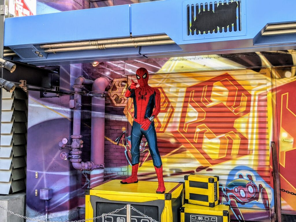 Spiderman Meet & Greet at California Adventure