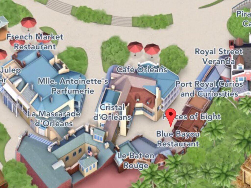 Where to Find Blue Bayou Restaurant at Disneyland
