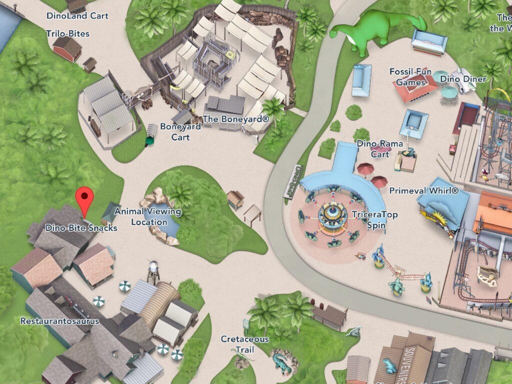 Where to Find Dino-Bite Snacks at Animal Kingdom