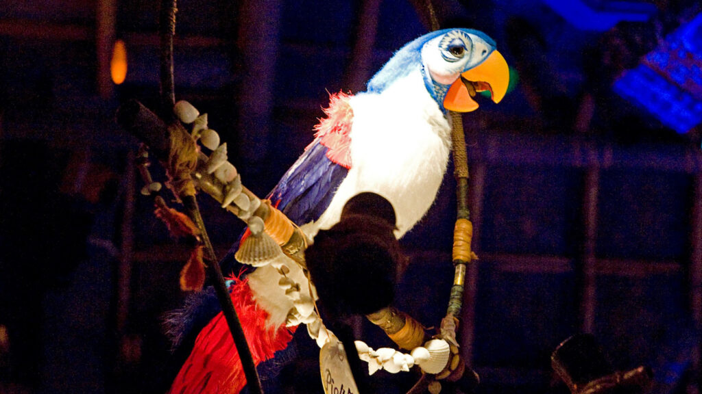 Tiki Room at Disney World