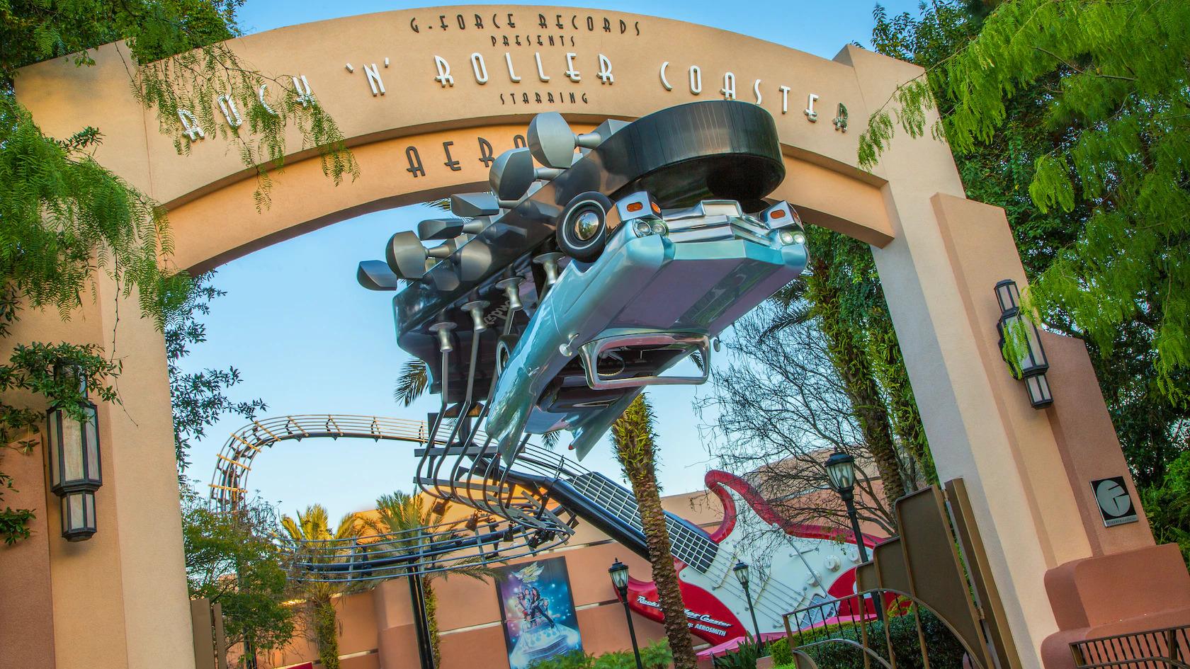 rock and roller coaster