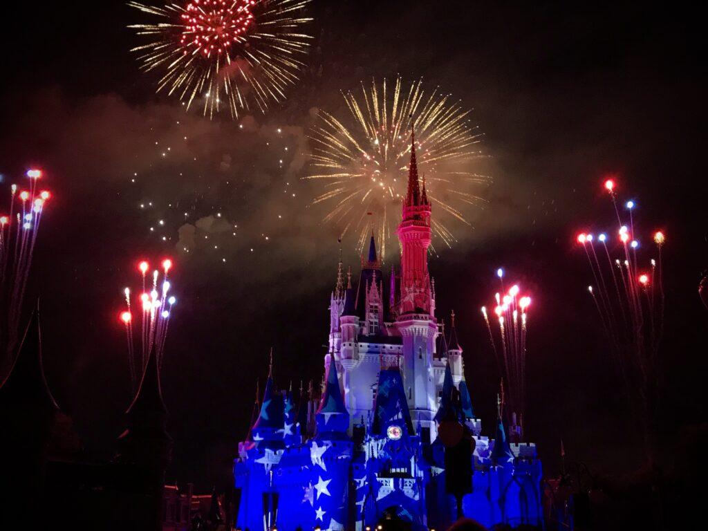Disney 4th of July Fireworks