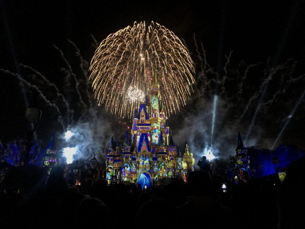 Happily Ever After Disney fireworks
