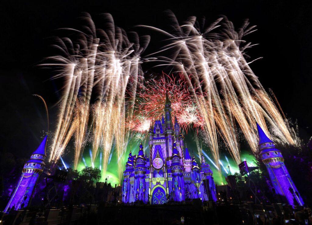 Disney Enchantment fireworks